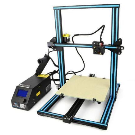 Creality3DCR - 10 3D asztali nyomtató - EU csatlakozó, Frissített verzió, Kék