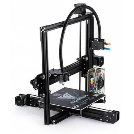 EU Raktár - Tevo Tarantula 3D nyomtató szett (EU6) - EU csatlakozó, Fekete