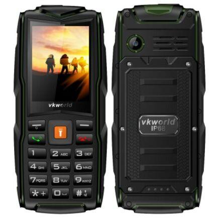 Vkworld New Stone V3 2G mobiltelefon (angol billentyűzet) - Zöld