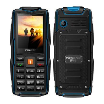 Vkworld New Stone V3 2G mobiltelefon (orosz billentyűzet) - Kék