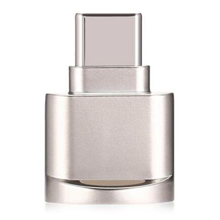 OTG C típusú USB MicroSD kártyaolvasó - Arany