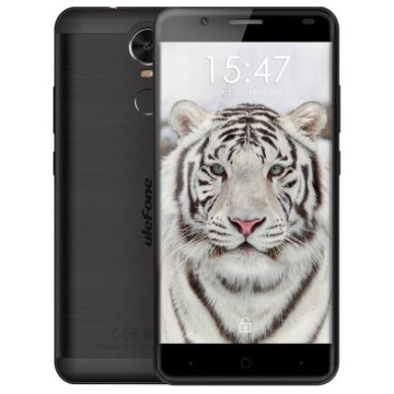EU ECO Raktár - Ulefone Tiger Lite 3G okostelefon (HK) - Fekete
