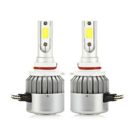 9006 36W LED fényszóró izzó - Fehér