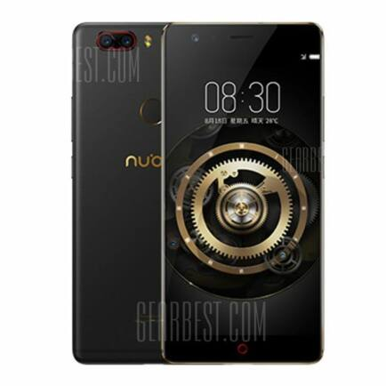 EU ECO Raktár - Nubia Z17 Lite 4G Okostelefon - Globális verzió - Fekete arany