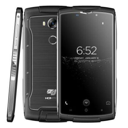 EU ECO Raktár - HOMTOM ZOJI Z7 4G okostelefon (HK) - Fekete
