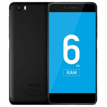 EU ECO Raktár - Vernee Mars Pro 4G okostelefon - 64GB - Fekete