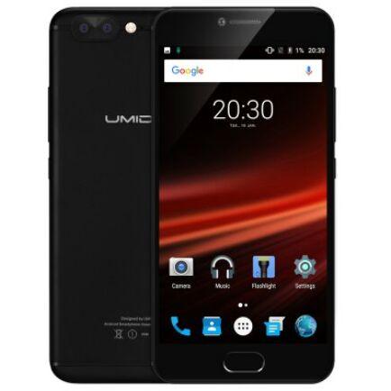 EU ECO Raktár - UMIDIGI Z1 Pro 4G okostelefon (HK) - Fekete