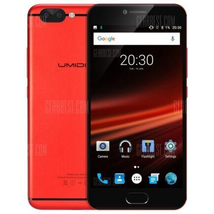 EU ECO Raktár - UMIDIGI Z1 Pro 4G okostelefon (HK2) - Piros