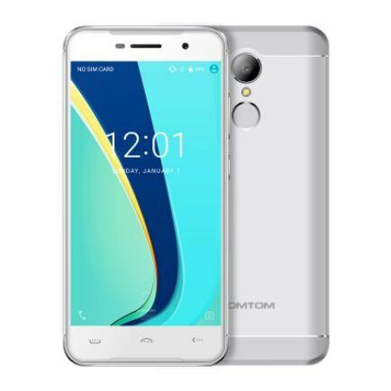 EU ECO Raktár - Homtom HT37 Pro 4G okostelefon (HK) - Ezüst