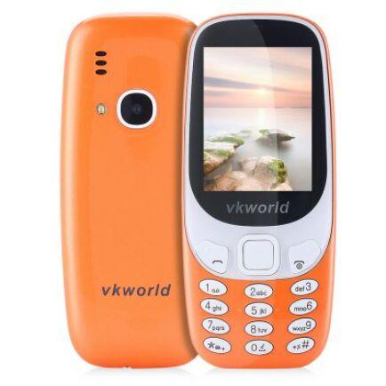 Vkworld Z3310 2G mobiltelefon (CN) - Z3310-B, Narancs