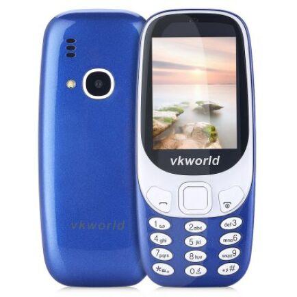 Vkworld Z3310 2G mobiltelefon (CN) - Z3310-B, Kék
