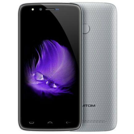 EU ECO Raktár - HOMTOM HT50 4G okostelefon (HK) - Ezüst