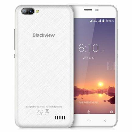 EU ECO Raktár - Blackview A7 3G okostelefon (HK2) - Fehér