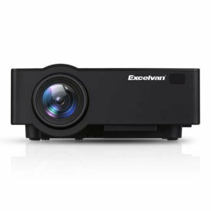 EU ECO Raktár - Excelvan E09 ( E08S ) 1080P 4K Otthoni Házimozi Projektor Android 6.0 Operációs Rendszerrel