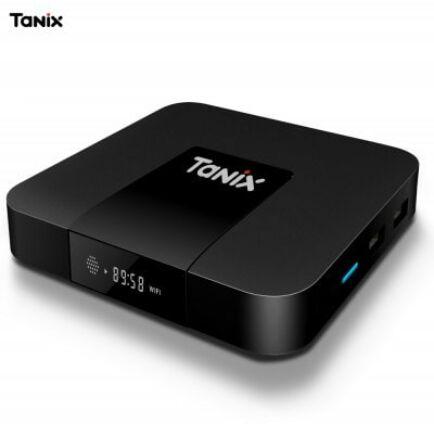 Tanix TX3 Mini TV Box (CN) - EU csatlakozó - Fekete
