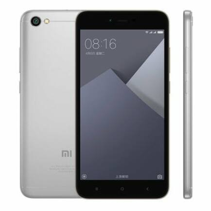 EU ECO Raktár - Xiaomi Redmi Note 5A 4G okostelefon (HK) - 16G, Ezüst