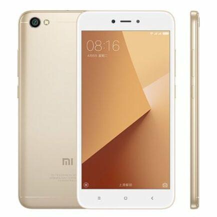 EU ECO Raktár - Xiaomi Redmi Note 5A 4G okostelefon (HK) - 16G, CMCC, Arany