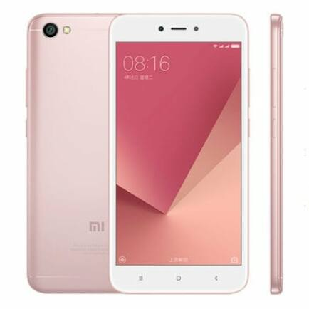 EU ECO Raktár - Xiaomi Redmi Note 5A 4G okostelefon (HK) - 16G, CMCC, Pink