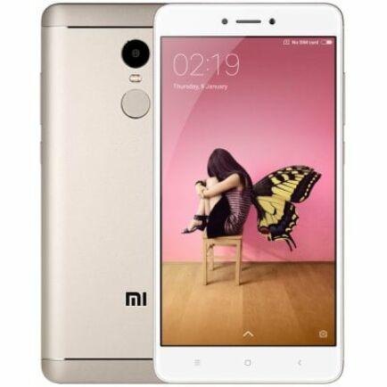 EU ECO Raktár - Xiaomi Redmi Note 4 4G okostelefon (HK) - Arany