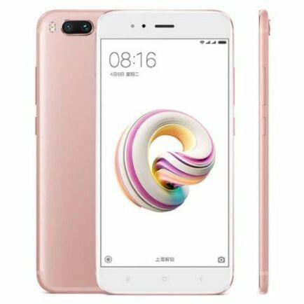 EU ECO Raktár - Xiaomi Mi 5X 4G okostelefon (HK) - Pink