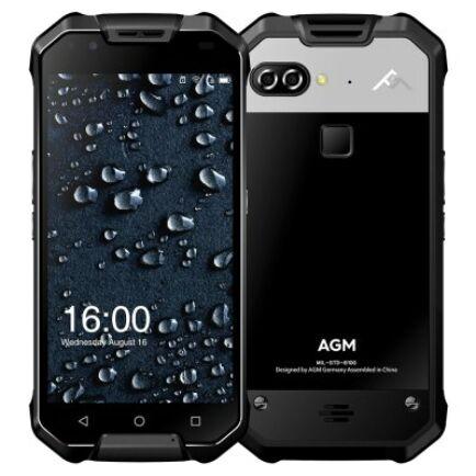 EU ECO Raktár - AGM X2 4G okostelefon (HK) - Fekete