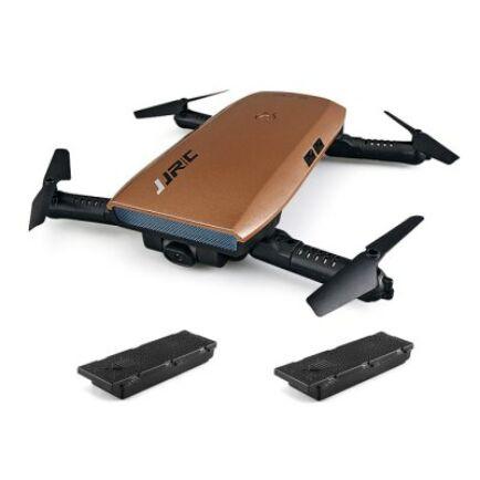 EU ECO Raktár - JJRC H47 ELFIE+ RTF szelfi drón tartalék akkus verzió - Kávé