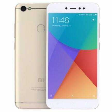 EU ECO Raktár - Xiaomi Redmi Note 5A 4G okostelefon (HK) - 32G, Arany