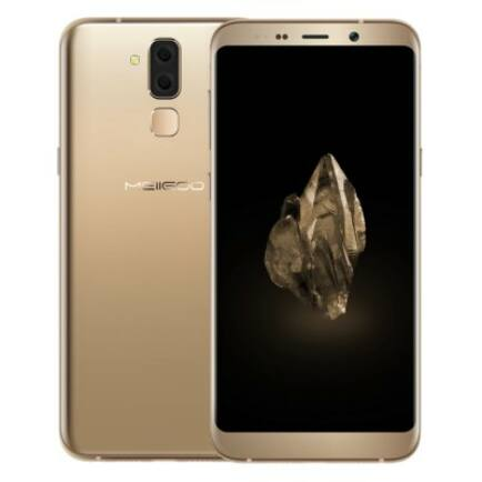 EU ECO Raktár - MEIIGOO S8 4G okostelefon (CN) - Arany