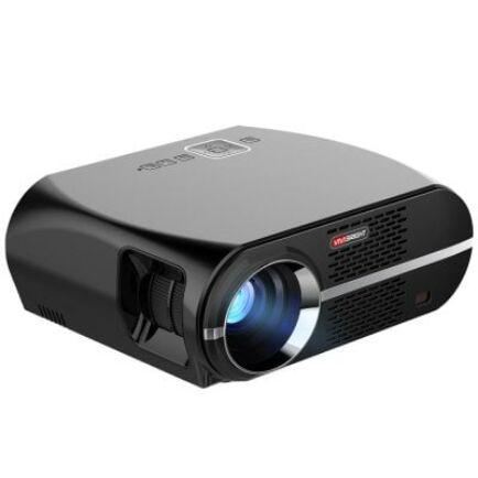 EU ECO Raktár - VIVIBRIGHT GP100 LCD projektor (CN) - OP rendeszer nélkül - EU csatlakozó - Fekete