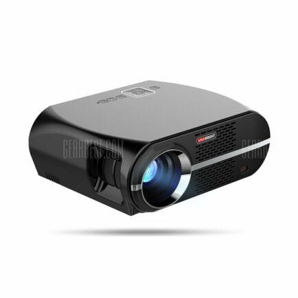 VIVIBRIGHT GP100 LCD projektor (CN) - OP rendeszer nélkül - US csatlakozó - Fekete
