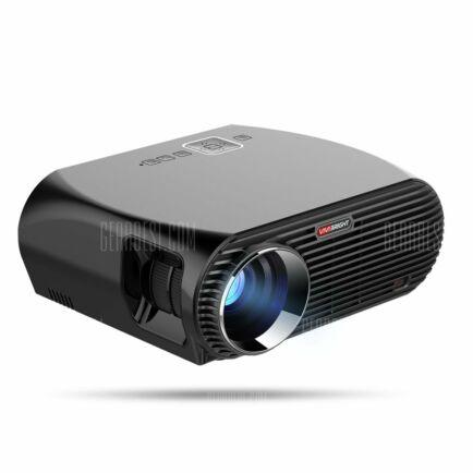 EU ECO Raktár - VIVIBRIGHT GP100 LCD projektor (CN) - Android - US csatlakozó - Fekete