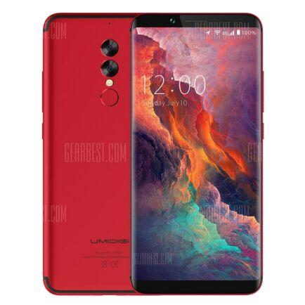 EU ECO Raktár - UMIDIGI S2 Pro 4G okostelefon - Piros