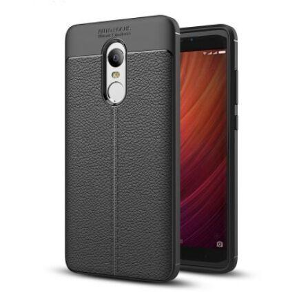 Luanke Xiaomi Redmi Note 4 / 4X csúszásmentes hátlapvédő tok - Fekete