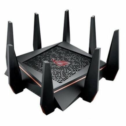 ASUS GT - AC5300 Tri-band gamer router - Fekete