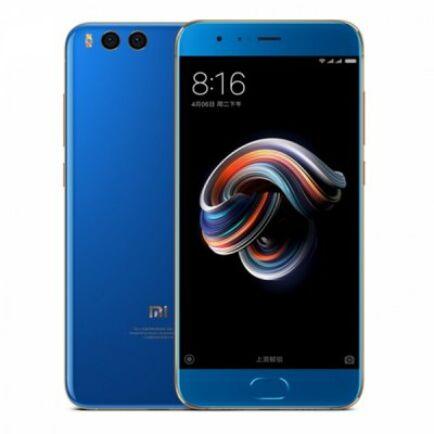 EU ECO Raktár - Xiaomi Mi Note 3 4G okostelefon - Kék