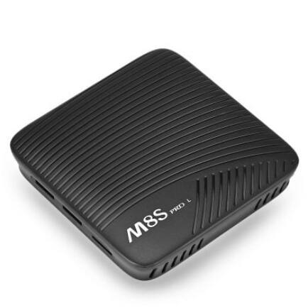 EU ECO Raktár - Mecool M8S PRO L Android 7.1 4k TV Box (CN) - 16GB