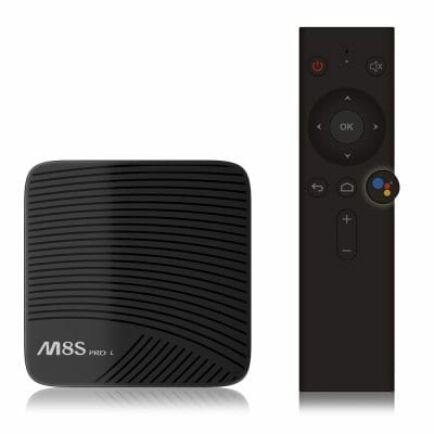 EU ECO Raktár - Mecool M8S PRO L Android 7.1 4k TV Box (CN) - 32GB - Hangvezérlés