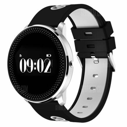 EU Raktár - Cf007 Bluetooth 4.0 okosóra (FR) - Fekete