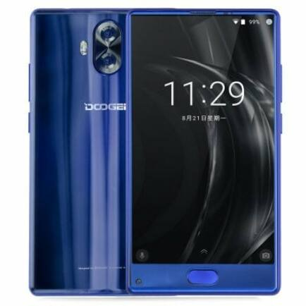 EU ECO Raktár - DOOGEE Mix Lite 4G okostelefon (HK) - Kék