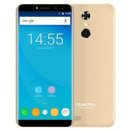 EU ECO Raktár - OUKITEL C8 3G okostelefon (HK) - Arany