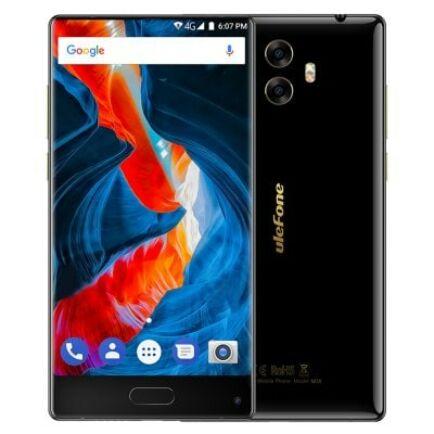 EU ECO Raktár - Ulefone Mix 4G okostelefon (HK) - Fekete