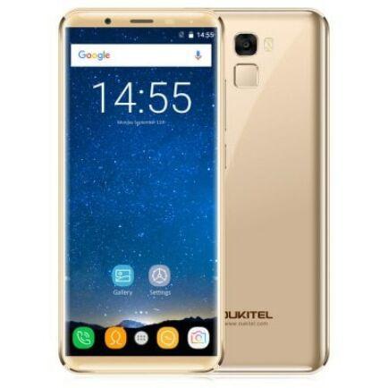 EU ECO Raktár - OUKITEL K5000 4G okostelefon (HK) - Arany
