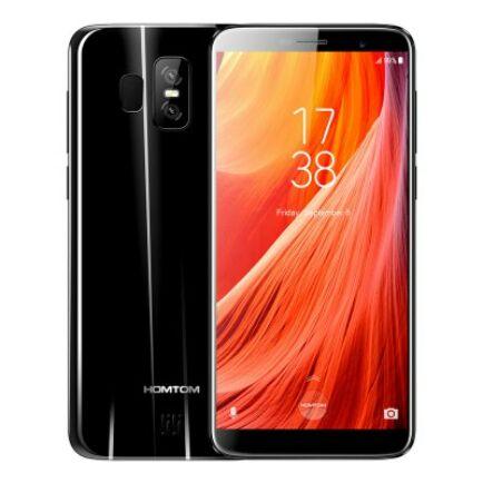 EU ECO Raktár - HOMTOM S7 4G okostelefon (HK) - Fekete