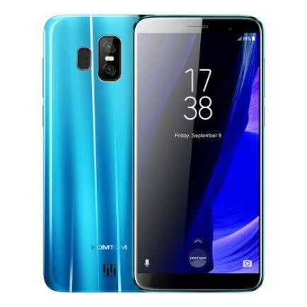 EU ECO Raktár - HOMTOM S7 4G okostelefon (HK) - Kék