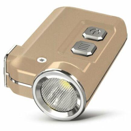 Nitecore TINI CREE XP - G2 S3 LED Kulcstartó Zseblámpával - Arany