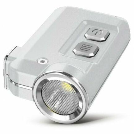 Nitecore TINI CREE XP - G2 S3 LED Kulcstartó Zseblámpával - Ezüst