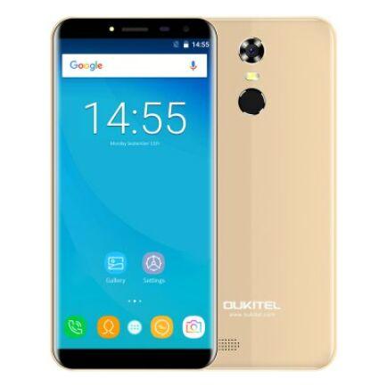 EU ECO Raktár - OUKITEL C8 4G okostelefon (HK) - Arany