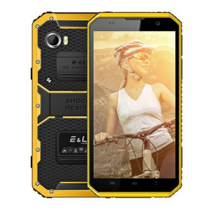EU ECO Raktár - EL W9 4G okostelefon (HK) - Sárga