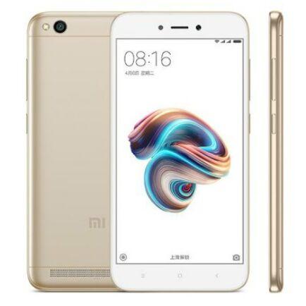 EU ECO Raktár - Xiaomi Redmi 5A 4G okostelefon (HK) - Global, Arany