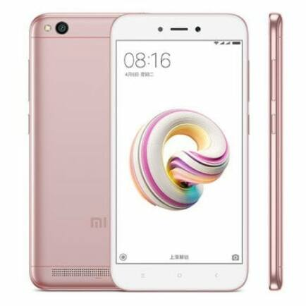 EU ECO Raktár - Xiaomi Redmi 5A 4G okostelefon (HK) - Global, Pink